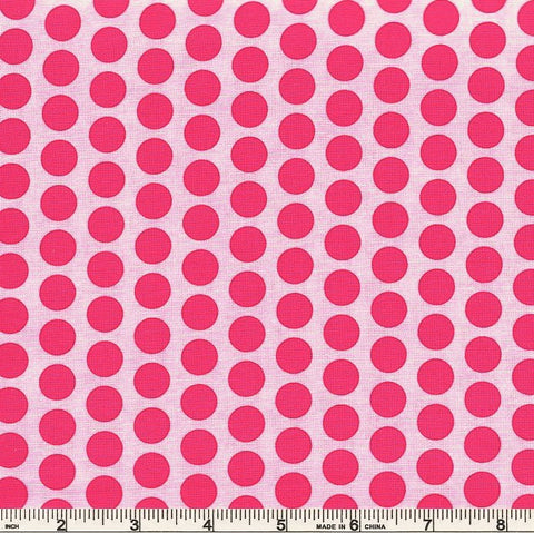 Moda Frolic 22317 13 Playful Pink Polka Dots By The Yard
