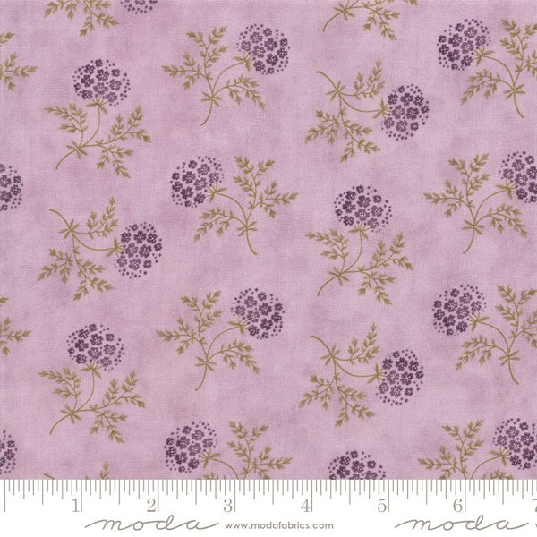 Moda Clover Meadow 2231 14 Lilac Puff Ball Floral By The Yard