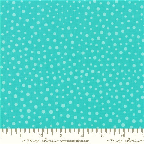 Moda Good Day 22379 32 Turquoise Modern Confetti By The Yard