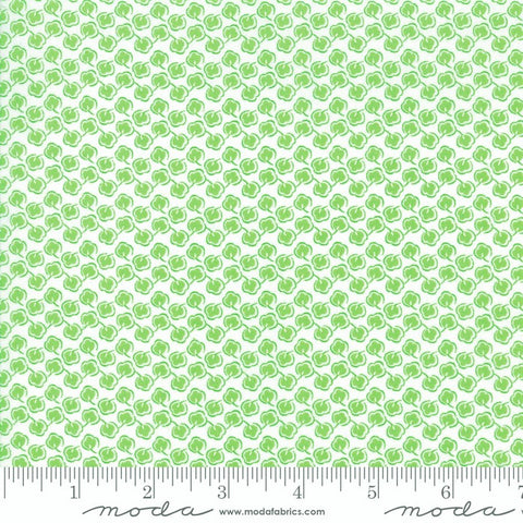 Moda Fiddle Dee Dee 22381 16 Green Cotton Balls By The Yard