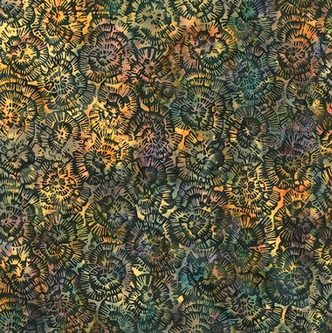 Hoffman Bali Batiks 2247 634 Global Spice Rose By The Yard