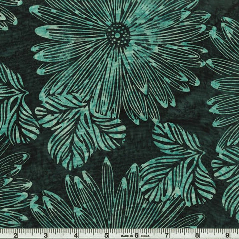 Hoffman Batik Open Waters 2249 174 Seamist Big Tropical By The Yard