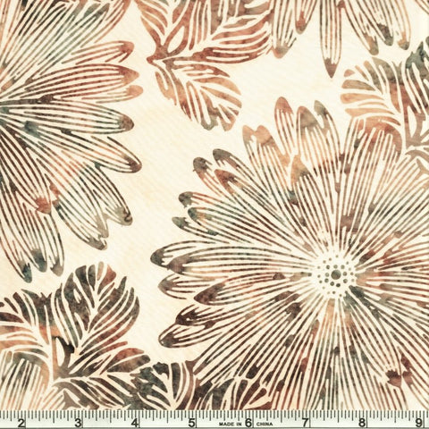 Hoffman Batik Sand & Surf 2249 508 Breakers Big Tropical By The Yard