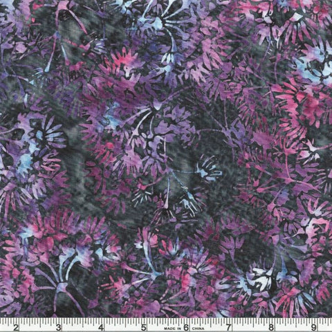 Hoffman Batik Royale 2252 438 Crocus Dandelion By The Yard