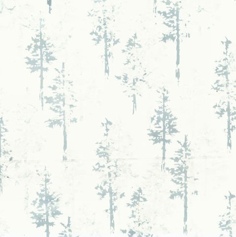 Hoffman Bali Batik 2258 190 Ice Blue Forest By The Yard