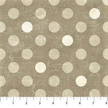 Northcott Spot On 22597 14 Brown Medium Dots By The Yard