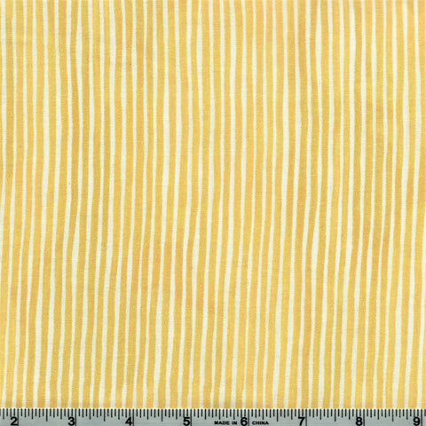 Northcott Sew Sweet 22666 52 Yellow Rain Washed Stripe By The Yard