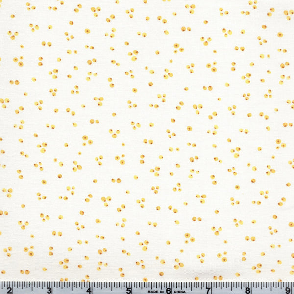Northcott Sew Sweet 22667 52 Yellow Seeds By The Yard