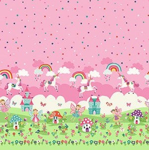 Makower Daydream 2281 1 Daydream Double Border Print By The Yard