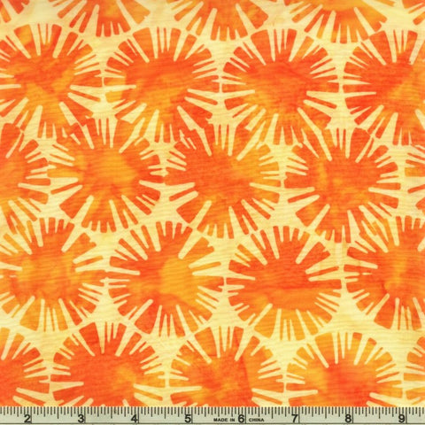Hoffman Batik Primary Paradise 2304 149 Sun Suns By The Yard