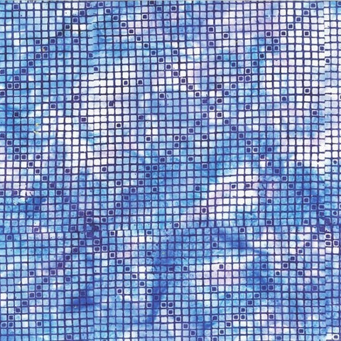 Hoffman Batik Royale 2305 229 Wisteria Cross Grid By The Yard