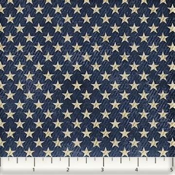 Northcott Route 66 - 23122 49 Navy Starry By The Yard