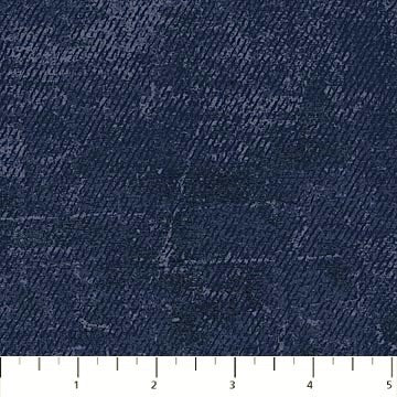 Northcott Route 66 - 23123 49 Navy Denim Looking Solid By The Yard