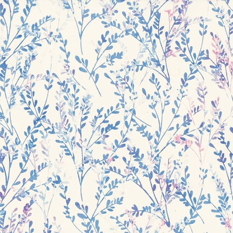 Hoffman Batik Spring Breeze 2317 482 Cotton Candy Delicate Twig By The Yard