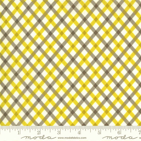 Moda Flowers For Freya 23335 21 Foggy Picnic Plaid By The Yard