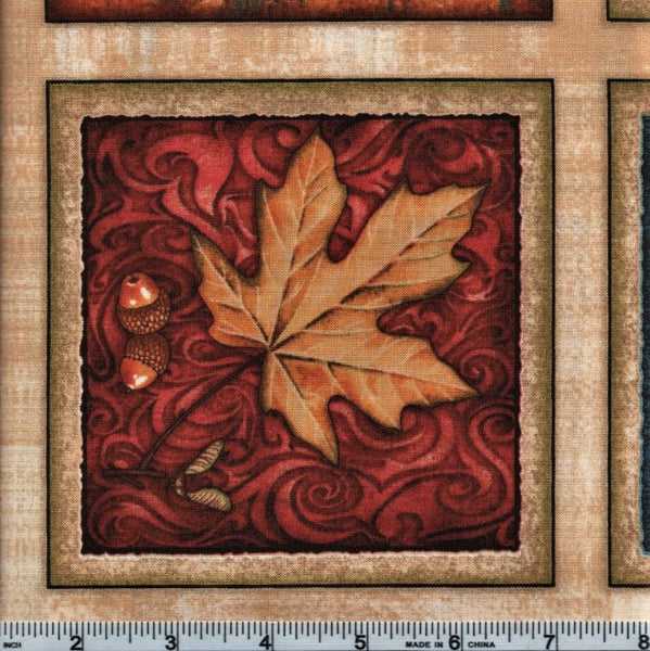 RJR Shades Of Autumn 2343 1 Autumn PANEL By The Yard