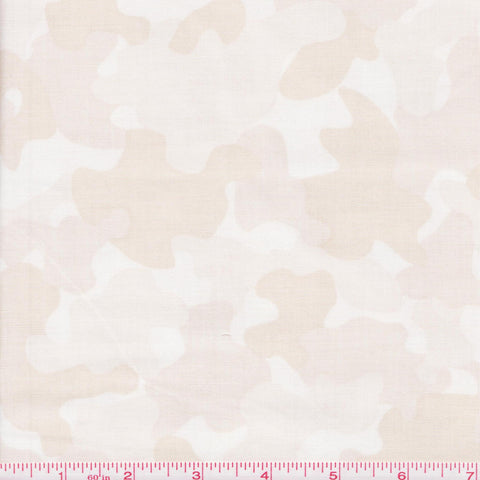 Quilting Treasures Be Strong Be Brave 24085 E Cream Camo by the yard