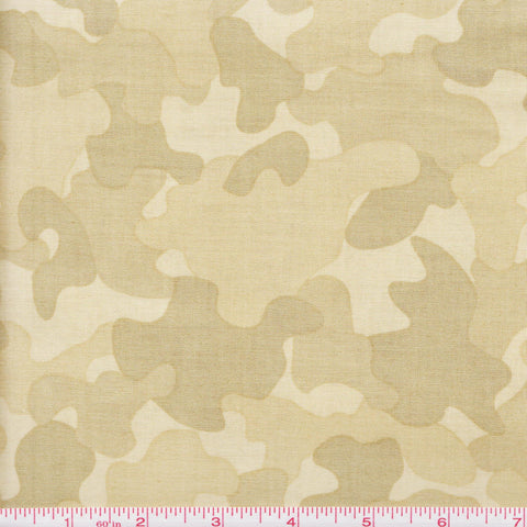 Quilting Treasures Be Strong Be Brave 24085 H Light Green Camo by the yard
