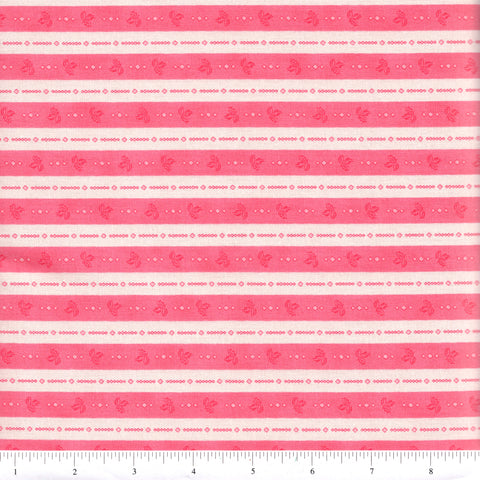 RJR Fabrics Katherine Ann 2444 1 Pink Ticking By The Yard