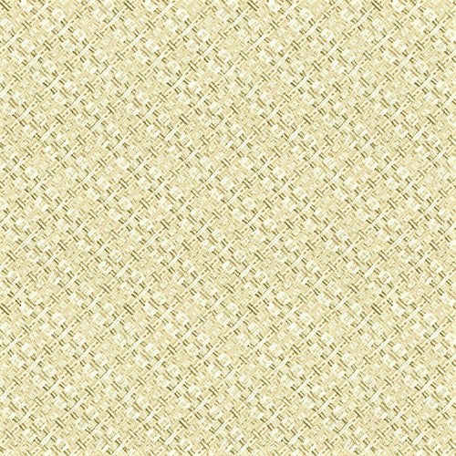 Henry Glass & Co. Best Of Days 2452 34 Tan Woven Texture By The Yard