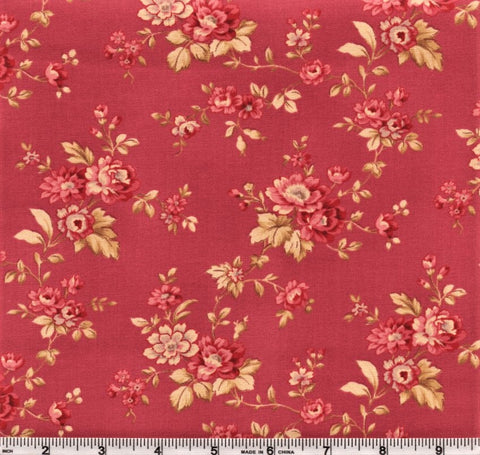 RJR Esprit Maison By Robyn Pandolph 2469 5 Pink Vintage Flowers By The Yard