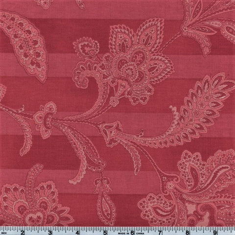 RJR Esprit Maison By Robyn Pandolph 2470 5 Pink Lined Flowers By The Yard