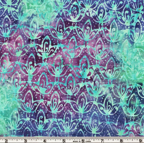 Anthology Bali Batiks 251Q 3 Purple Embossing By The Yard