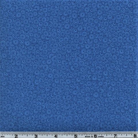 RJR Fabrics Basically Patrick 2627 17 Lapis Blue Swirls By The Yard
