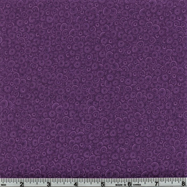 RJR Fabrics Basically Patrick 2627 19 Eggplant Swirls By The Yard