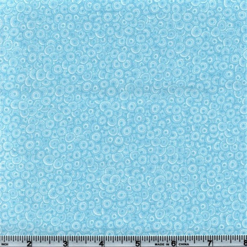 RJR Fabrics Basically Patrick 2627 7 Baby Blue Swirls By The Yard