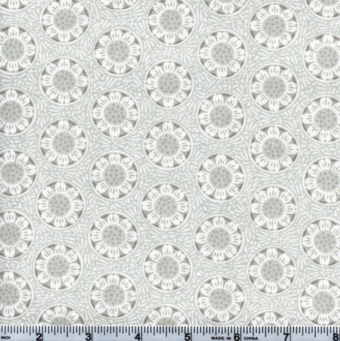 RJR Fabrics Chirp 2644 3 Gray Sun Bursts By The Yard