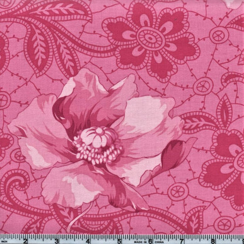 RJR Marseille By Robyn Pandolph 2672 1 Pink Flowing Lotus By The Yard