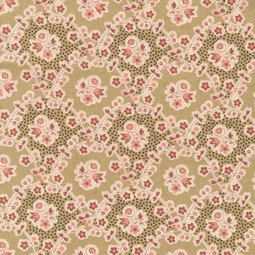 RJR Fabrics Chocolate & Bubble Gum 2724 2 Taffy Brown By The Yard