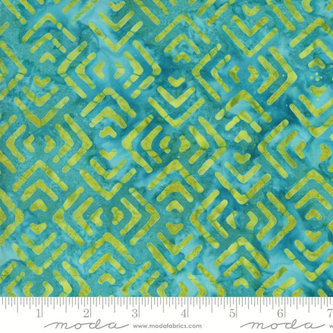 Moda Confection Batiks 27310 33 Mint Pathways By The Yard