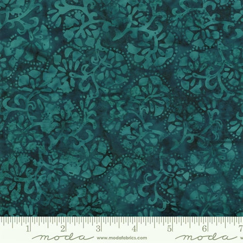 Moda Confection Batiks 27310 83 Blue Raspberry Carnation By The Yard