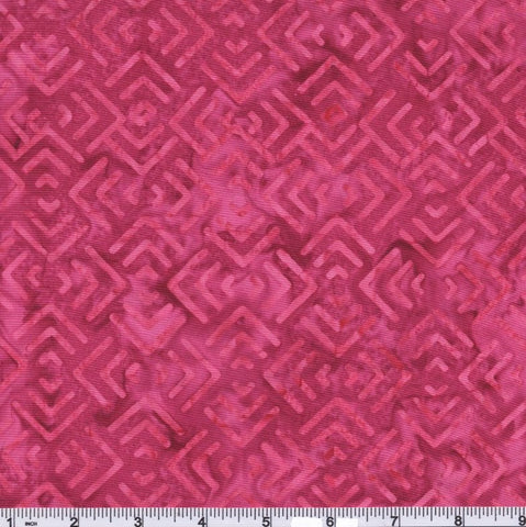 Moda Confection Batiks 27310 36 Raspberry Pathways By The Yard