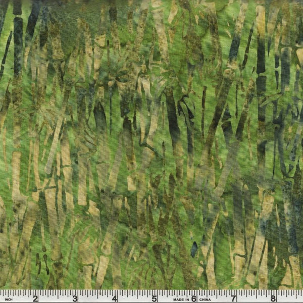 Hoffman Batik Adobe Forest 2747 355 Patty Bamboo Trees By The Yard