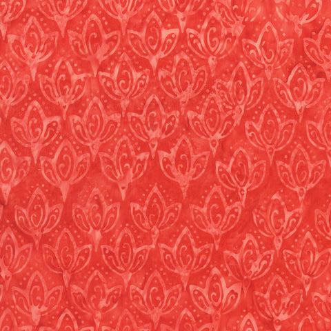 Anthology Bali Batiks 275Q 2 Valentine Lotus By The Yard