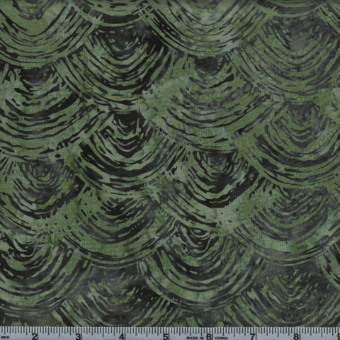 Hoffman Fabrics Bali Batiks 2803 498 Monstera Abstract Shell By The Yard