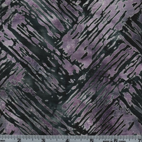 Hoffman Bali Batik 2804 236 Tanzanite Abstract Zig Zag By The Yard