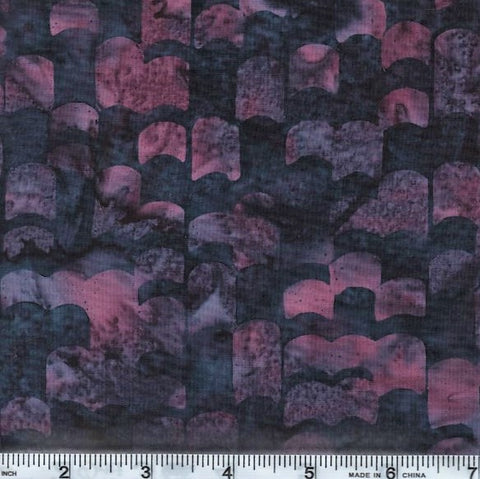 Hoffman Bali Batik 2806 50 Wine Purple Layers By The Yard