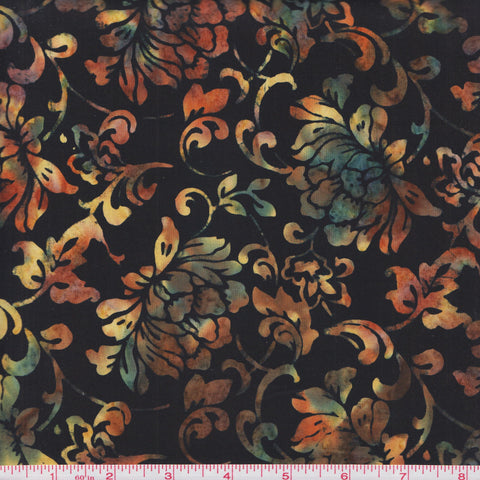 Hoffman Fabrics Bali Batiks 2891 286 Sugar Plum Antique Flowers By The Yard