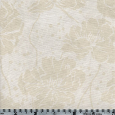 Hoffman Bali Batik 2939 265 Oyster Flowers On White By The Yard