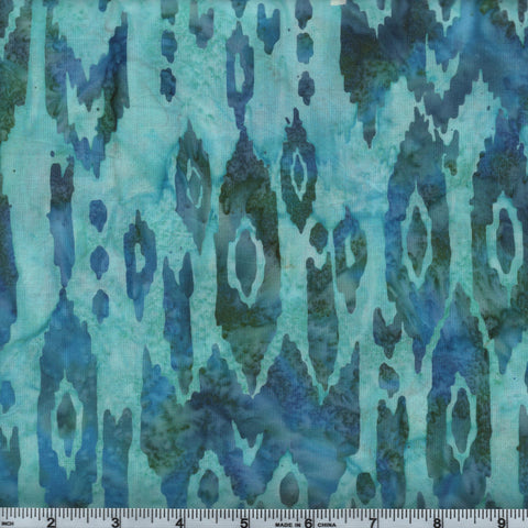 Hoffman Bali Batik 2955 560 Tidepool Blue Green By The Yard