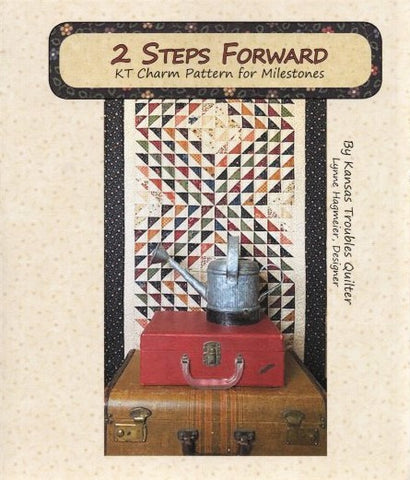 2 STEPS FORWARD - Kansas Troubles Quilters' Pattern KT 55036