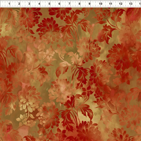 In The Beginning Fabrics Diaphanous 2ENC 1 Spice Daydream By The Yard