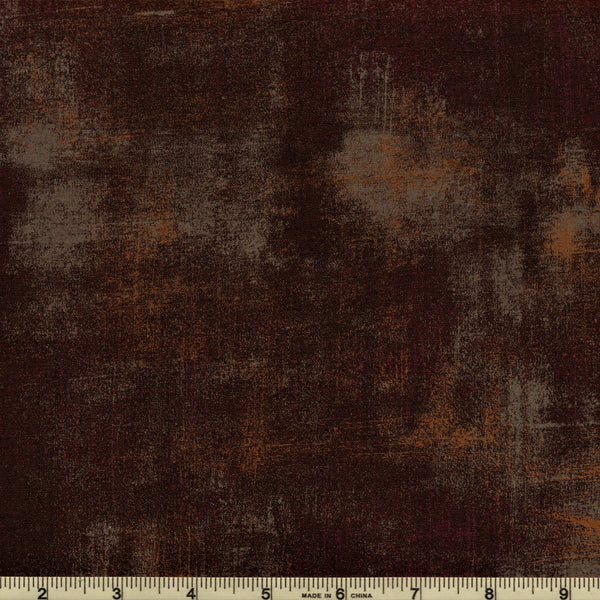 Moda Grunge 30150 416 Bison Dark Brown By The Yard