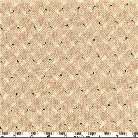 Moda Maven 30467 23 Kraft Cross Hatch By The Yard