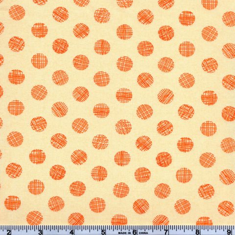 Moda Hallo Harvest 30605 13 Maple Disturbed Dots By The Yard