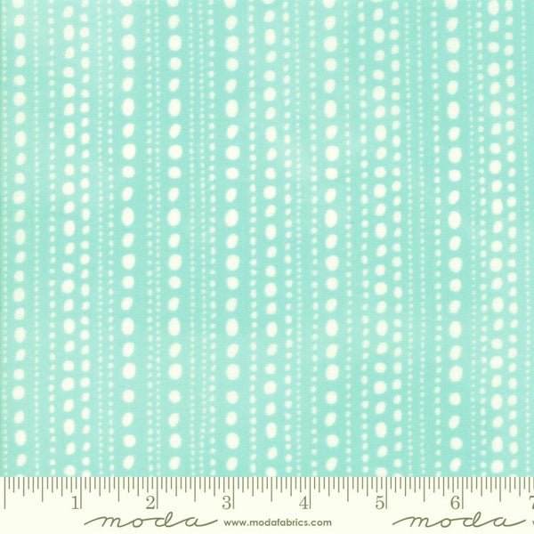 Moda Gypsy Soul 30626 26 Soothing Dotted Stripes By The Yard